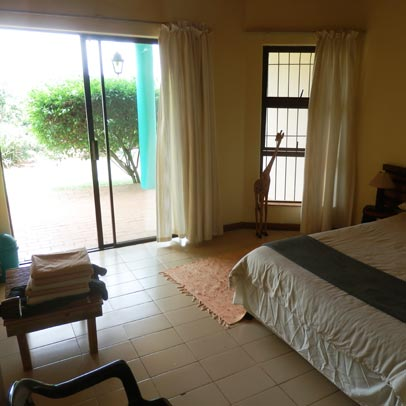 Budget accommodation - interior view of one of our rooms